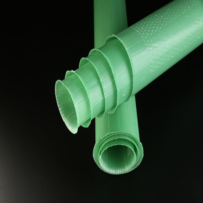 Double Wall Tree Shelter Tubes PP Material Green Color 60cm Size